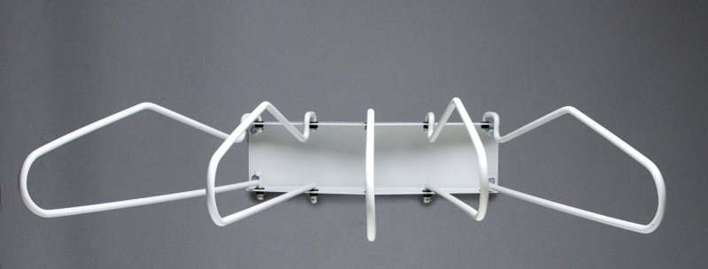 WR2 5 Arm Wall Mount Swing Rack
