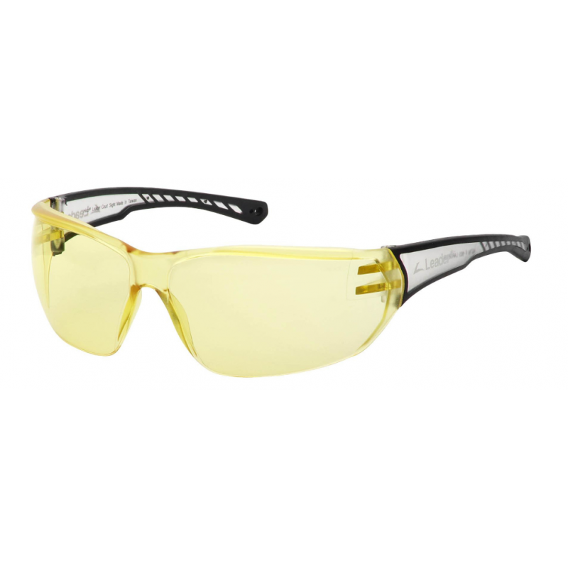 Court Sight Plano Eyeguard With Yellow AF Lens, Clear/Black