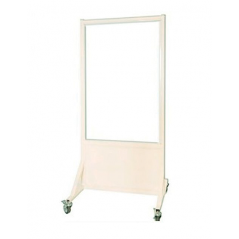 """Mobile Leaded Barrier with 30""""W x 48""""H Window 