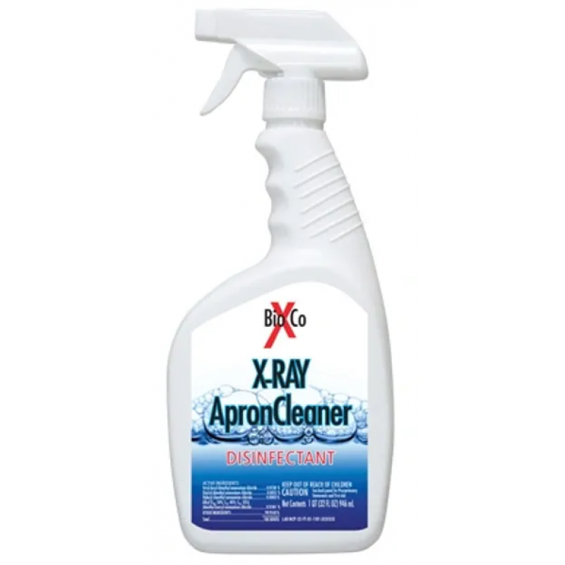 X-RAY Apron Cleaner Disinfectant Spray