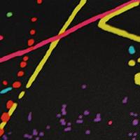 401 Splatter Black