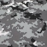 Digital Gray Camo - #492
