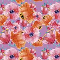In Bloom - Lavendar | Fabric #1200