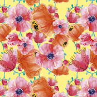 In Bloom - Soft Yellow | Fabric #1202