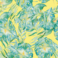 Leaf It To Me - Soft Yellow | Fabric #1205
