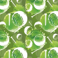 Tee Time - Bright Green | Fabric #1224